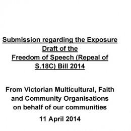 Exposure draft_religious orgs