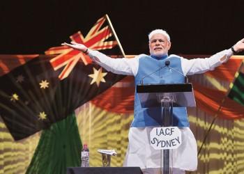 Modi at Sydney Allphones Arena