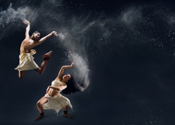 In Plain Sanskrit featuring Govind Pillai and Raina Peterson.  Photo: Hayden Golder Photography