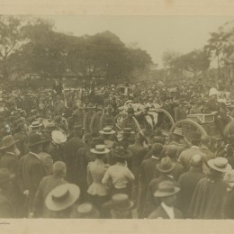 Ralph Cummings funeral procession, The Crown Studios 1901. (www.slv.org.au)